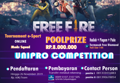 Tournamen Free Fire Goes To Campus