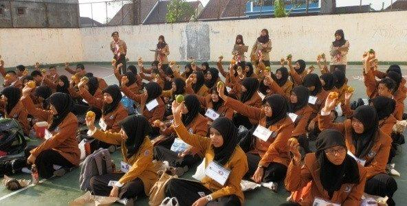 Penerimaan Anggota Baru Racana Kanjuruhan Gugusdepan Kota Malang 05331 – 05332 Pangkalan Univ. Kanjuruhan Malang